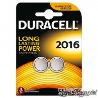 DURACELL 2016 BATTERIA LITIO 3V DL2016 CR2016 CR/BR2016 PILA BOTTONE
