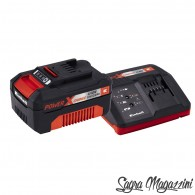 Kit batteria Einhell litio ricaricabile 18V 2.5ah caricabatteria rapido universale